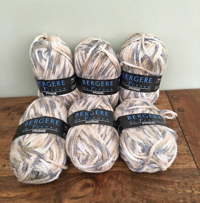 Bergere De France Prisme Wool Yarn 50g Col 20879 Brown Knitting Craft Brand New • 12.99£