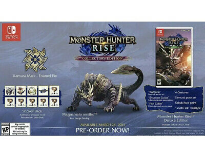 AU214.96 • Buy Nintendo Switch Monster Hunter Rise Collector's Edition Pre Order!