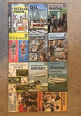 11 Vintage LADYBIRD BOOKS 1960-70's Various Titles Used Condition • 15£