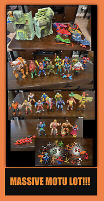 $345 • Buy HUGE GIANT LOT 1980s Vintage He-Man Collection Used MOTU Masters Of The Universe