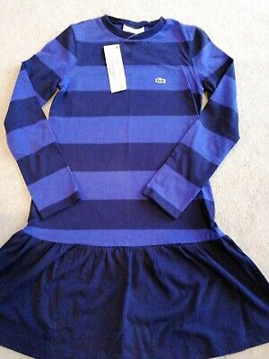 Lacoste  Kids Dress Size 8 New With Tags • 12£