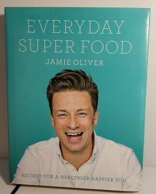 AU28 • Buy JAMIE OLIVER: Everyday Superfood Hardcover Cookbook