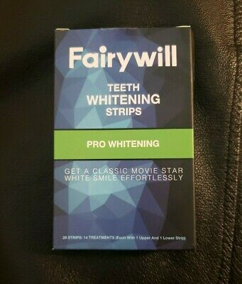 AU12.75 • Buy Fairywill Teeth Whitening Strips Pack Of 28 Strips (14 Treatments)