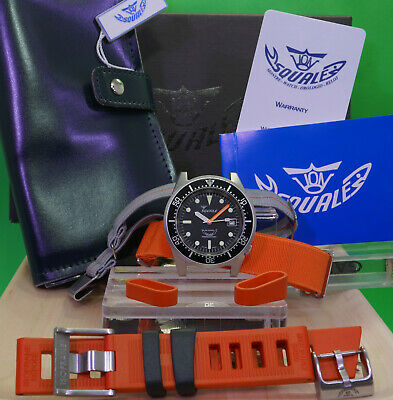 $ CDN1005.23 • Buy Squale 1521 50 Atmos Black 026 Matte COMPLETE Set + EXTRAs Swiss Classic DIVER