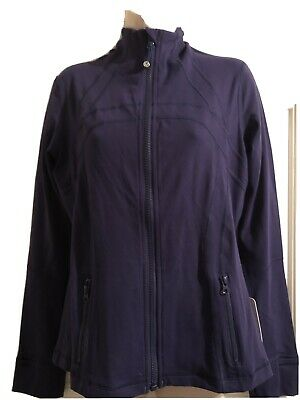 $ CDN80.11 • Buy Nwt Lululemon Define Jacket Size 10 Deep Purple