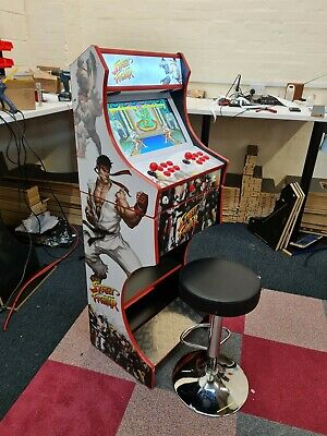 Arcade Machine 2 Player - Street Fighter V4 Themed Design Whooping 7000+ Games  • 689.99£
