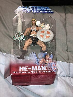 $19.99 • Buy Masters Of The Universe He-Man 6  Figure 2001 Iron Cross Mattel Opened Unused