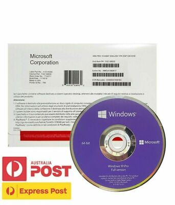 $ CDN43.75 • Buy [Sealed Retail Box] Microsoft Windows 10 Pro Professional DVD & Key For 1 PC OEM
