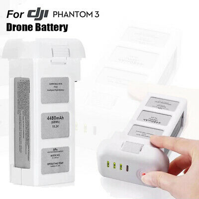 AU110.88 • Buy Drone Battery For DJI Phantom 3 Professional/3/Standard/Advanced 15.2V 4480mAh