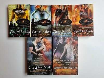 The Mortal Instruments Series - Cassandra Clare - 6 Books • 5£