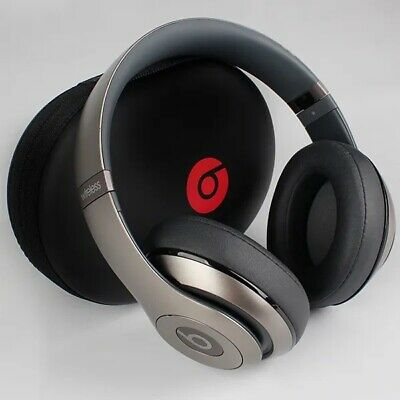 Beats By Dr. Dre Studio Wireless Headphones - Titanium • 100£