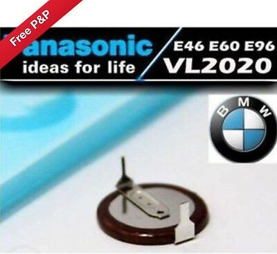 £9.99 • Buy Panasonic VL2020 Rechargeable Battery For BMW Key Fob 3 5 7 Series