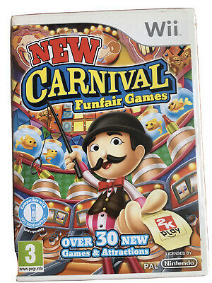 New Carnival Funfair Games - Nintendo Wii - Boxed With Manual  • 4.99£