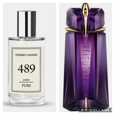 FM 489 Pure Collection Federico Mahora Perfume For Women 50ml UK • 14.50£