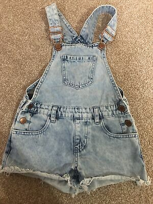 Girls Dungarees Age 5-6 • 1£