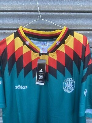 Vintage Germany Replica Football Shirt Retro Adidas • 26.99£