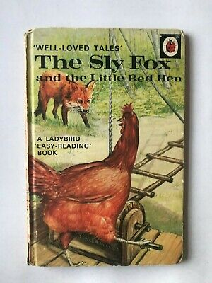 Ladybird Book - THE SLY FOX And The Little Red Hen Series 606d -  Vintage • 1.99£