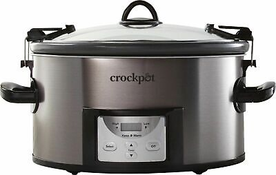 $ CDN65.79 • Buy NIB Crock-Pot - Cook & Carry Programmable 7-Quart Slow Cooker With Easy Clean