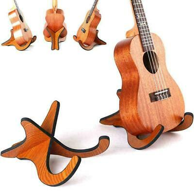 AU12.19 • Buy Folding Ukulele Violin Bass Guitar Stand A Frame Floor Holder Ra Hanger