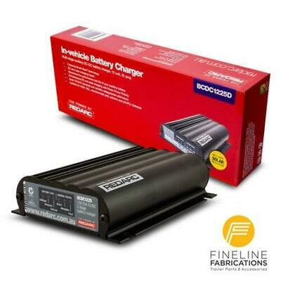 AU465 • Buy Redarc Bcdc1225d - Dual Input 25a In-vehicle Dc Battery Charger
