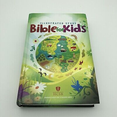 HCSB Illustrated Study Bible For Kids, Hardcover • 9.21£