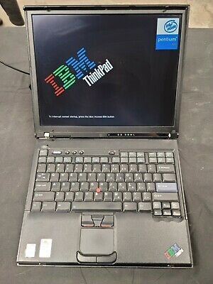 IBM Thinkpad Type 2373 T40 Intel Pentium M 1.50GHz 1GB RAM 60GB HDD NO OS • 29.89£