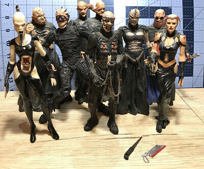 Hellraiser Action Figure Lot Of 8 Neca Reel Toys Stitch, CD, Surgeon, Wire Twin • 55.79£