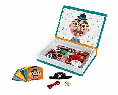 £18.25 • Buy Janod Magneti' Book Crazy Faces Educational Creative Magnet Card Game For Boys