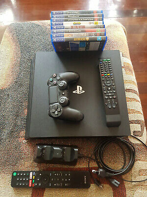 AU303.65 • Buy  Details About  Sony PlayStation 4 Pro 1TB 4K Console & 8 Games/Accessories