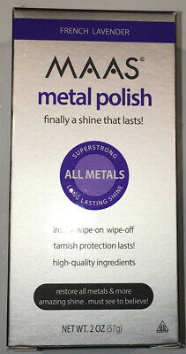 $24.95 • Buy MAAS Polishing Creme For All Metals, French Lavender 2oz(57g) Stainless Steel!