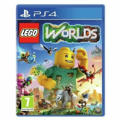 AU37.50 • Buy Lego Worlds PS4 PlayStation 4 Game PAL Version New Sealed