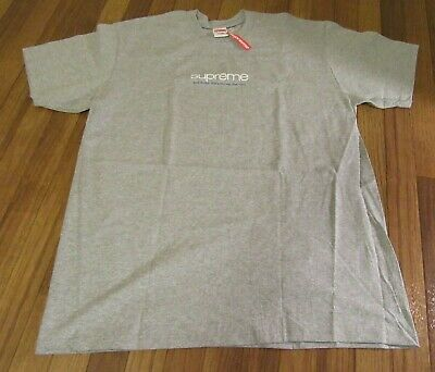 $ CDN99.73 • Buy Supreme Five Boroughs Tee T-Shirt Size Large Heather Grey SS21 Brand New 2021 DS