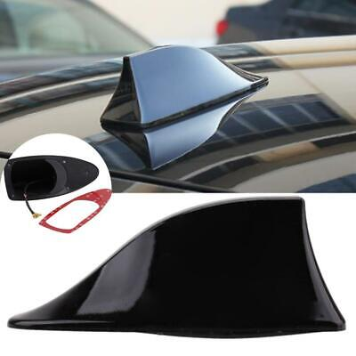 Black Universal Auto Car Roof Radio AM/FM Signal Shark Fin Aerial Antenna KS • 4.56£