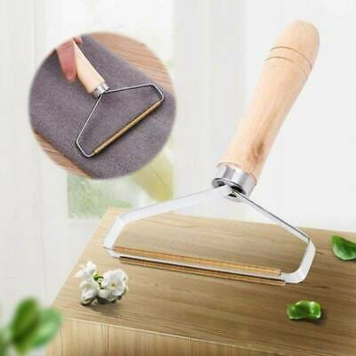 Wooden Manual Clothes Lint Pill Fluff Cleaner Remover Fabric Sweater Fuzz Shaver • 3.99£