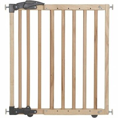 £42.70 • Buy Clippasafe Dual Fixing Wooden Stair Gate For Baby Safety-Open Box, 68cm-102cm