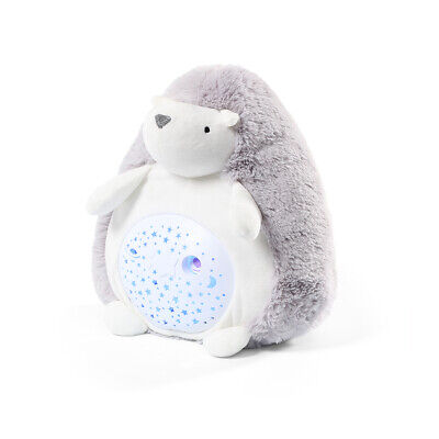 Hedgehog Hugo Night Light Baby Room Nursery Toy Projector Music, White Noise • 34.99£
