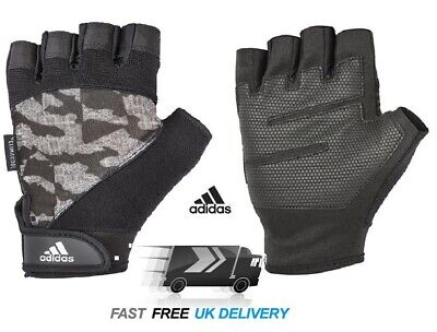 £5.99 • Buy Mens Adidas GYM Gloves XXL Climacool Training CrossFit Weight Lifting CAMO
