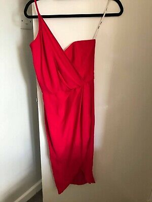 AU10.82 • Buy Brand New Tagged ASOS Women Red Dress For Special Occasion - Size UK 8