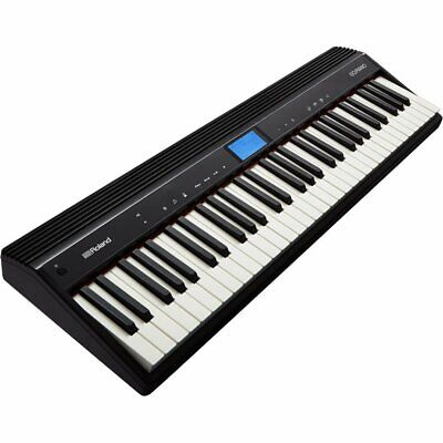 AU377 • Buy Mint Roland GO-61P Black 61 Key Bluetooth Digital Piano