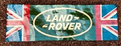 Waving Flag  Style,  Land Rover , Wall Plaque / Sign • 64.99£