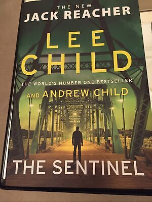 The Sentinel, Latest Jack Reacher Book 25, Lee Child & Andrew Child, Like New • 7£