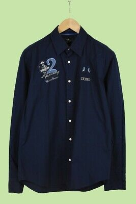 LA MARTINA BUENOS AIRES Men's LARGE Embroidered Logo Casual Shirt • 0.99£