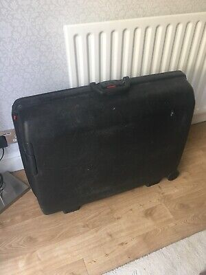 Retro  SAMSONITE Hard Shell Suitcase Large Black • 19.99£