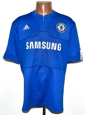 Chelsea London 2009/2010 Home Football Shirt Jersey Adidas Size L Adult • 27.99£