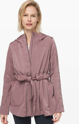 $ CDN150 • Buy Lululemon New Moves Jacket Misty Mocha 10 NWT