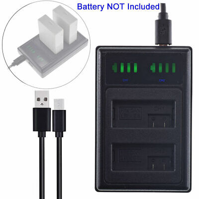 LP-E8 Battery Charger For Canon EOS 550D 600D 650D 700D Kiss X4 X5 Rebel T2i T3i • 6.99£