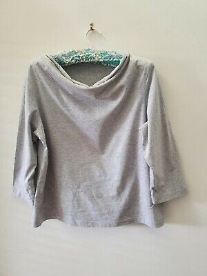 AU15 • Buy Gorman Grey Marle Organic Cotton Top 14