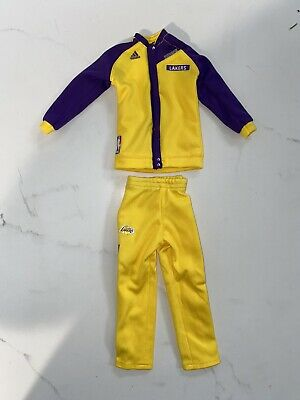 $69.99 • Buy 1/6 Kobe Bryant Lakerw Pre-game Warm Up Outfit For ENTERBAY