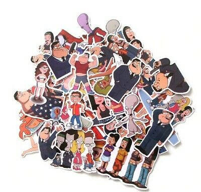 $ CDN6.18 • Buy American Dad TV Show Graffiti Stickers Francine Smith Roger Stan Smith Steve