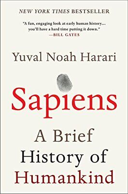 AU20 • Buy Sapiens: A Brief History Of Humankind By Yuval Noah Harari (Paperback, English)